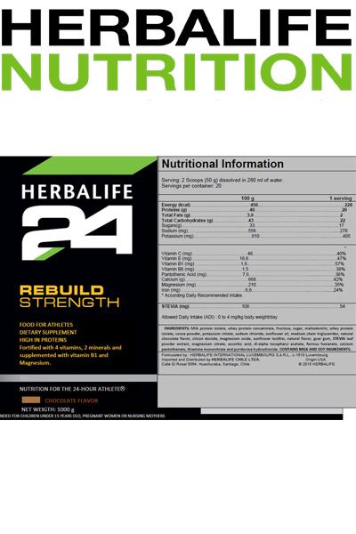 Tutto Saldi | Prodotti - Herbalife - Rebuild Strength